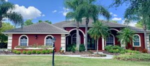 Front View of Flat Tile Roof by Zoller Roofing in Sarasota FL