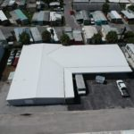 Zoller Roofing, metal warehouse reroof, TPO Metal Retrofit