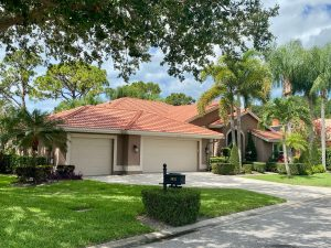 Front View of Terracotta Barrel Tile Roof by Zoller Roofing in Sarasota FL