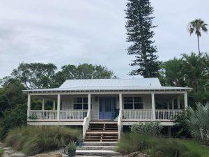 5-V Crimp Metal Roof by Zoller Roofing in Siesta Key, Sarasota FL