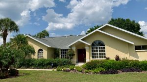 Front View of Dark Gray Shingle Roof by Zoller Roofing in Sarasota FL