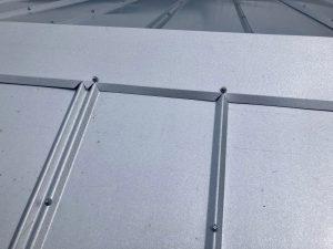 Super Close Up of Metal Roof Panel Zoller Roofing Sarasota FL