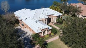 Roof Before Tile Installation, Tile Roof in Progress by Zoller Roofing, Sarasota FL
