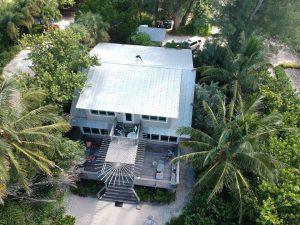 Aerial View of 5V Metal Roof in Sarasota FL