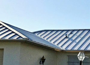 Standing Seam Metal Roof by Zoller Roofing in Sarasota FL