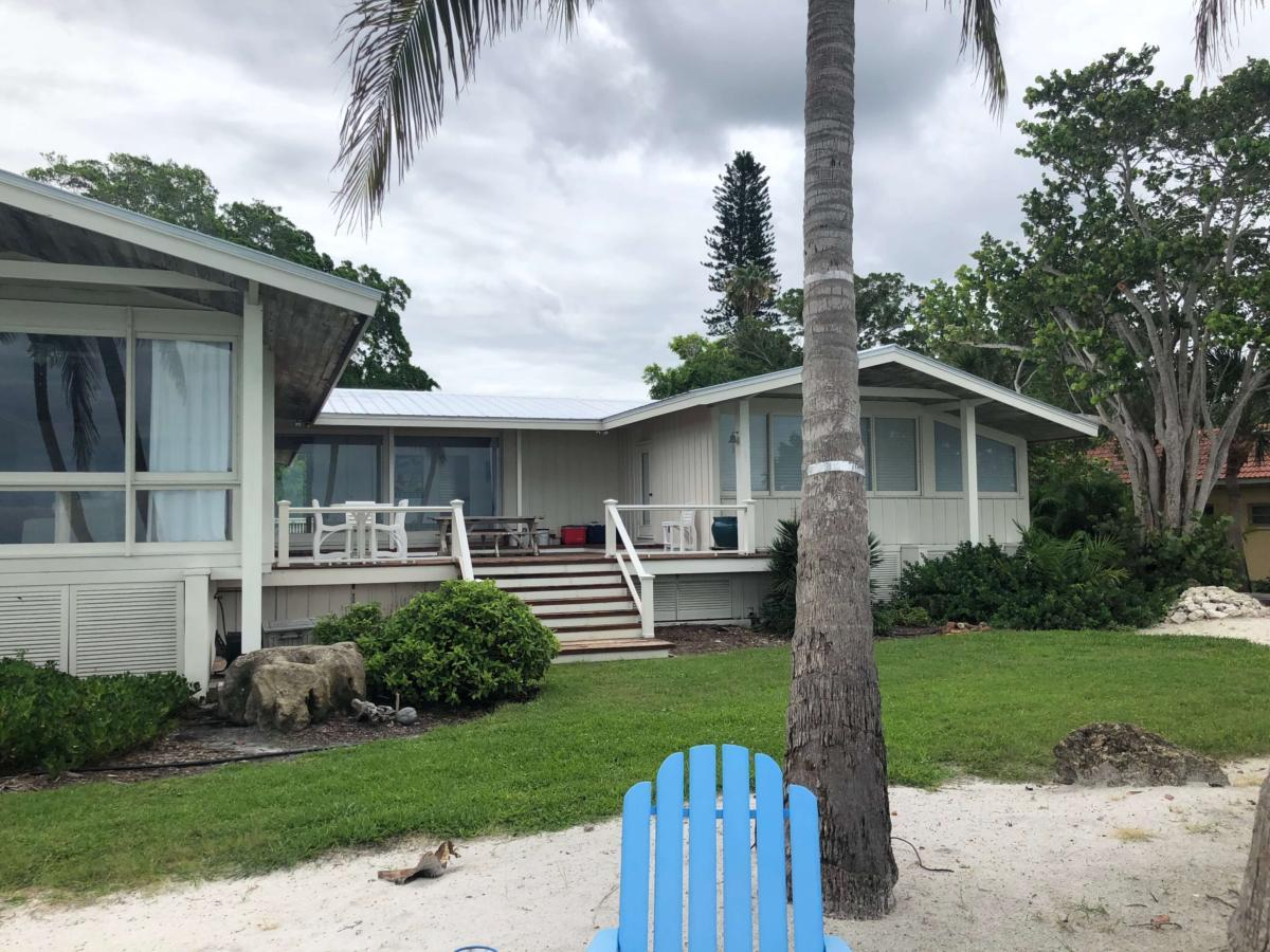 5 V Crimp Metal Roof Back View Siesta Key Zoller Roofing