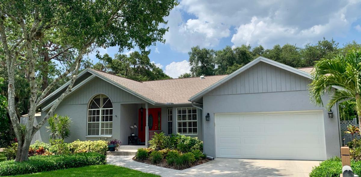 Zoller Roofing, new GAF Shingle Roof; Sarasota FL