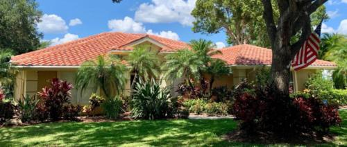 Boral Tile Barrel Terracotta Tile Roof, Zoller Roofing, Sarasota FL