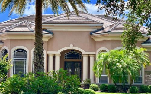 New Flat Tile Roof, Zoller Roofing, Sarasota FL