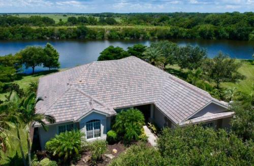 Textured Slate Eagle Tile Roof Zoller Roofing Sarasota, FL