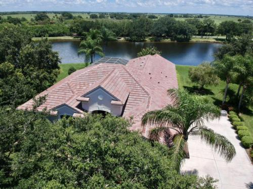Zoller Roofing, New Eagle Tile Roof, Floridian Blend color, Serenoa Lakes