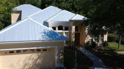 5-V Metal Roof, Zoller Roofing, Sarasota FL