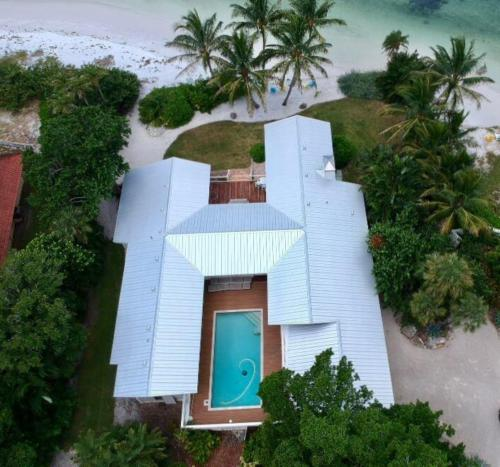 5V Metal Roof, Siesta Key, Birds Eye View, Sarasota FL, Zoller Roofing