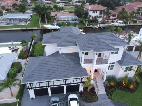 Flat Eagle Tile Roof, Sarasota FL