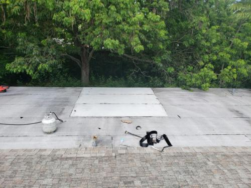 Commercial Roof Torch Repair, Zoller Roofing Sarasota