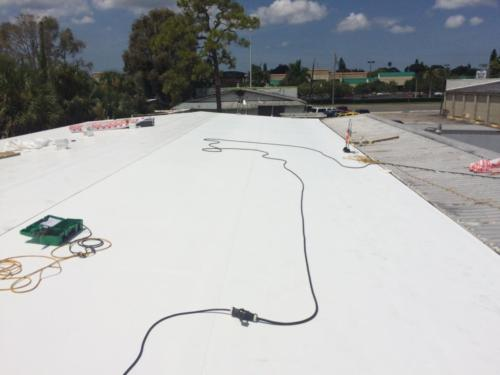 Commerical Metal Roof After, Zoller Roofing, Sarasota FL