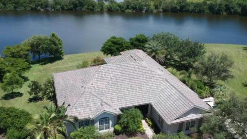 Eagle Flat Tile Roof, Zoller Roofing, Sarasota FL