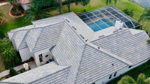Eagle Tile, Flat Slate Blend, Zoller Roofing, Sarasota, FL