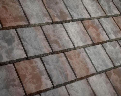 Eagle Tile Textured Slate Amesbury Blend
