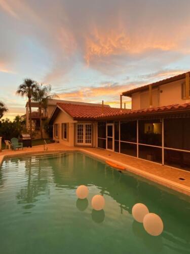 Zoller Roofing Inc., Eagle Tile Roof, back of house, Sarasota FL