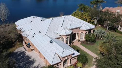 Tile Roof in Progress, Zoller Roofing, Sarasota FL